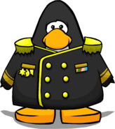 Black Admiral Jacket PC