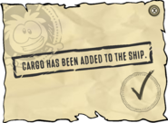 Cargo Added Message