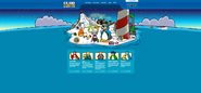 Christmas Party 2017 Homepage - Club Penguin Rewritten