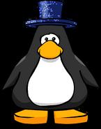Dazzling Blue Top Hat PC