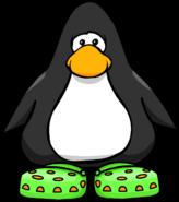 Green Cuckoo Ka Shoes PC
