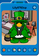 Lily8763cp Player Card - Mid March 2020 - Club Penguin Rewritten