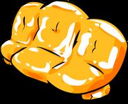 Orange Inflatable Sofa sprite 002