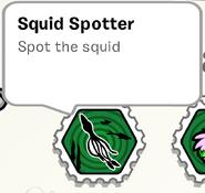 SquidSpotter StampBook