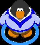 Blue Cheerleading Sweater IG
