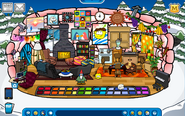 Rainbert Igloo - Late May 2019 - Club Penguin Rewritten