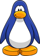 Ocean Blue Create Penguin