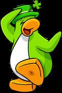 Shamrock Hat Penguin 1