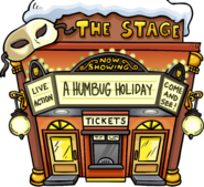 A Humbug Holiday Exterior