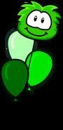 Green Puffle Old Balloon
