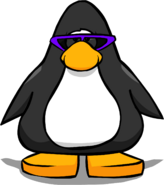 Purple Sunglasses PC