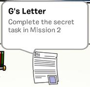 G's Letter SB