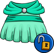 Seafoam Dress Unlockable