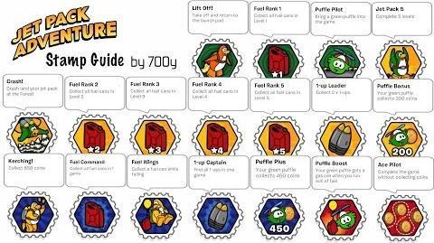Jet Pack Adventure Stamp Guide Part 1 3 - Club Penguin Rewritten