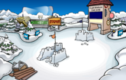 Medieval Party 2020 construction Snow Forts