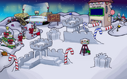 Christmas Party 2019 Snow Forts Concept