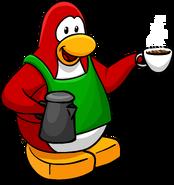 Coffee Apron Penguin Style Jan'18
