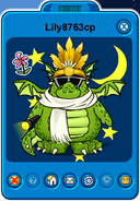 Lily8763cp Player Card - Late January 2020 - Club Penguin Rewritten