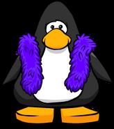 Purple Feather Boa PC