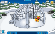 Thorn Igloo - Early March 2019 - Club Penguin Rewritten
