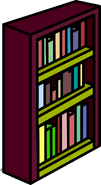 Burgundy Bookshelf sprite 011