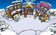 Medieval Party 2020 construction Town