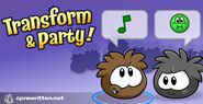 Puffle Party 2020 Splash art
