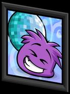 Purple Puffle Picture sprite 003