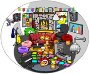 Rainbert Igloo - Mid February 2019 - Club Penguin Rewritten
