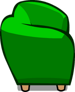 Green Couch sprite 007