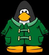 Green Duffle Coat PC
