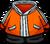 Orange Snowsuit