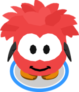 Red Puffle Costume IG