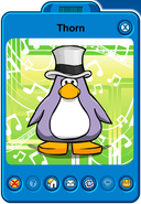 Thorn Player Card - Late May 2019 - Club Penguin Rewritten