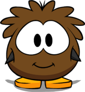 Brown Puffle Costume PC