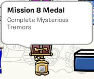 Mission 8 Medal SB