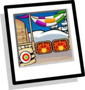 Medieval Arena Background Icon