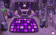 Night Club rave Purple