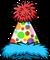 Polka Dot Puffle Hat