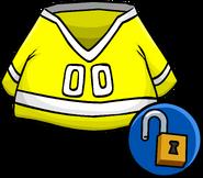 Yellow Hockey Jersey Unlockable