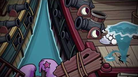 Club Penguin Rewritten Island Adventure Party Rockhopper's Quest