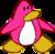 Doodle Dimension penguin Pink