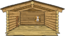 Log Cabin Undecorated