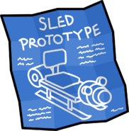Prototype Sled Blueprints