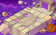 Puffle Party 2020 construction Box Dimension