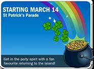St. Patrick's Parade Advert