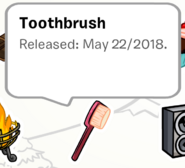 Toothbrush Pin SB