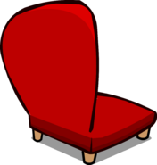 Red Plush Chair sprite 006