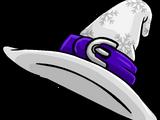 White Blizzard Wizard Hat