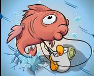Ice Fishing Polaroid 3